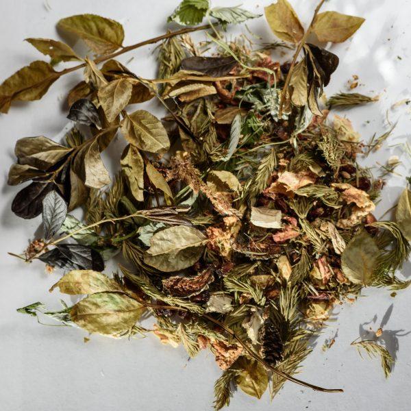 Фруктово-хвойный травяной чай