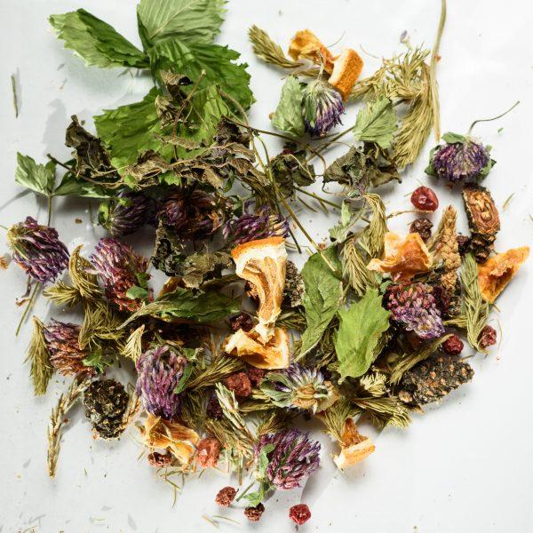 Фруктово-ягодный травяной чай