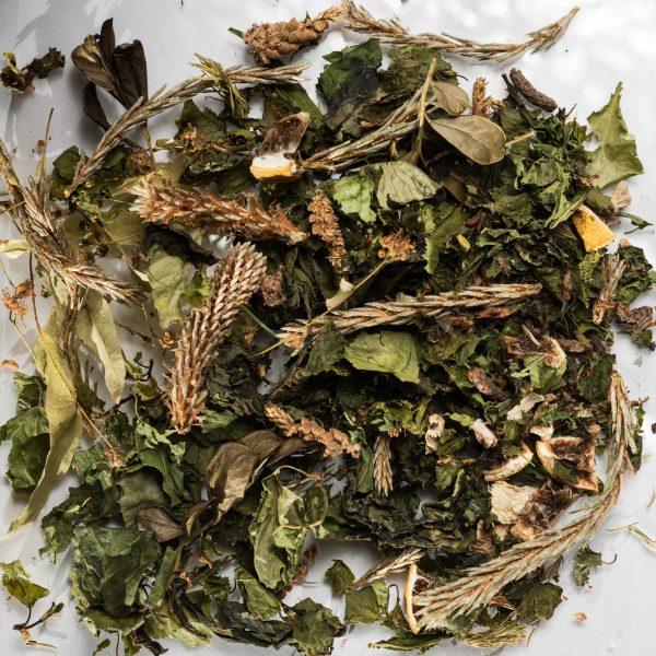 Фруктовый травяной чай