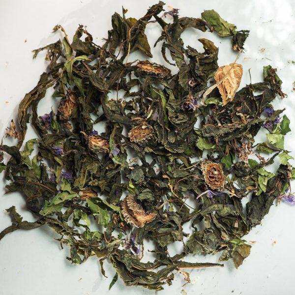 Иван-чай с сосновыми шишками