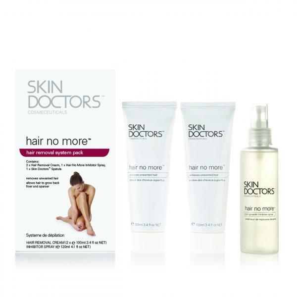 Подарочный набор SKIN DOCTORS для удаления и замедления роста волос / Hair No More Pack (3 препарата) 2003
