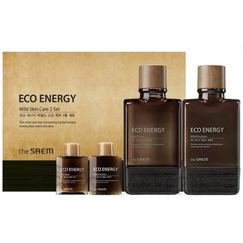 Подарочный набор для мужчин The Saem Eco Energy Mild Skin Care 2 Set СМ1881