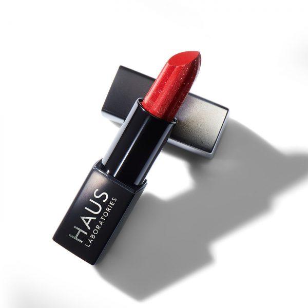 Губная помада из новой коллекции Haus Laboratories by Lady Gaga SPARKLE LIPSTICK Цвет сияющий красный